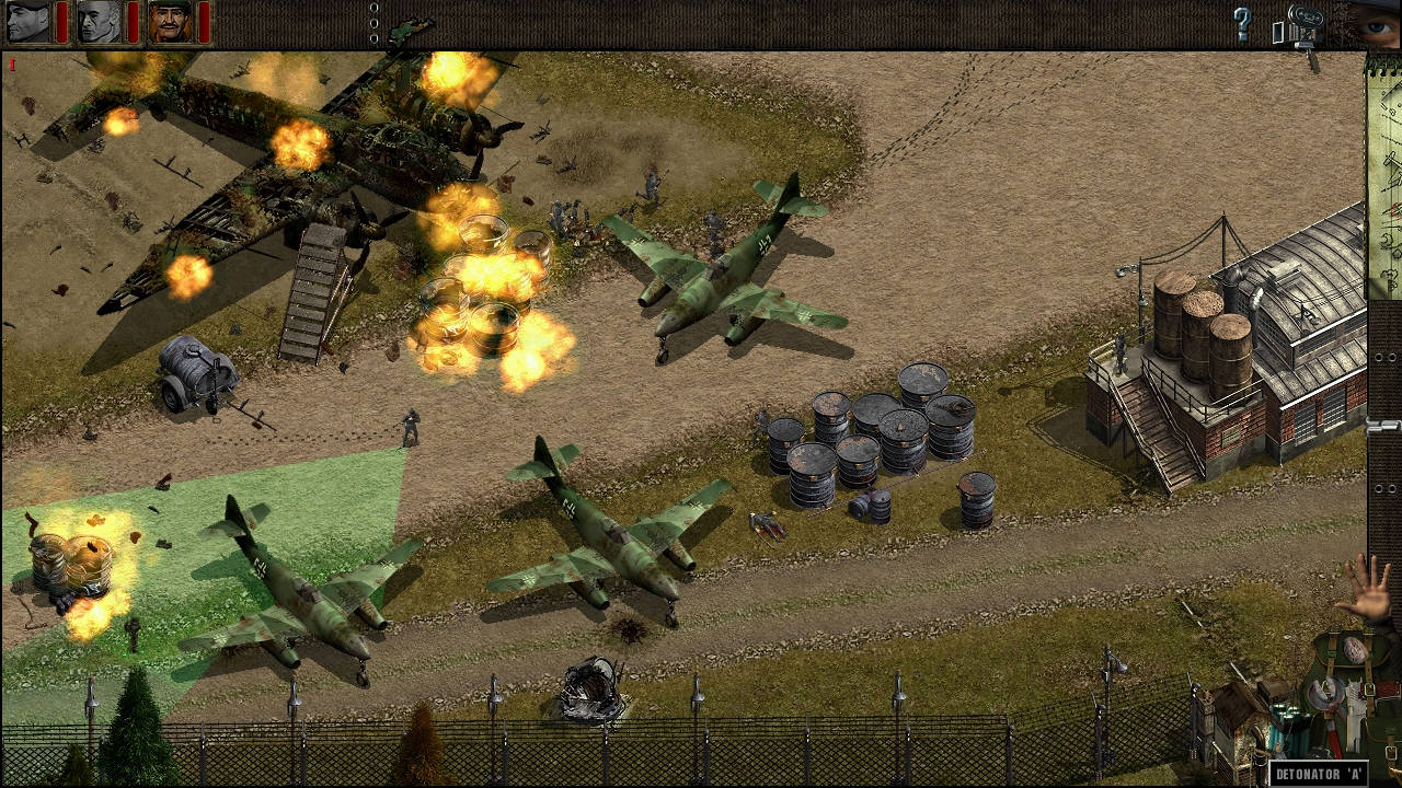 Commandos: Beyond the Call of Duty screenshot