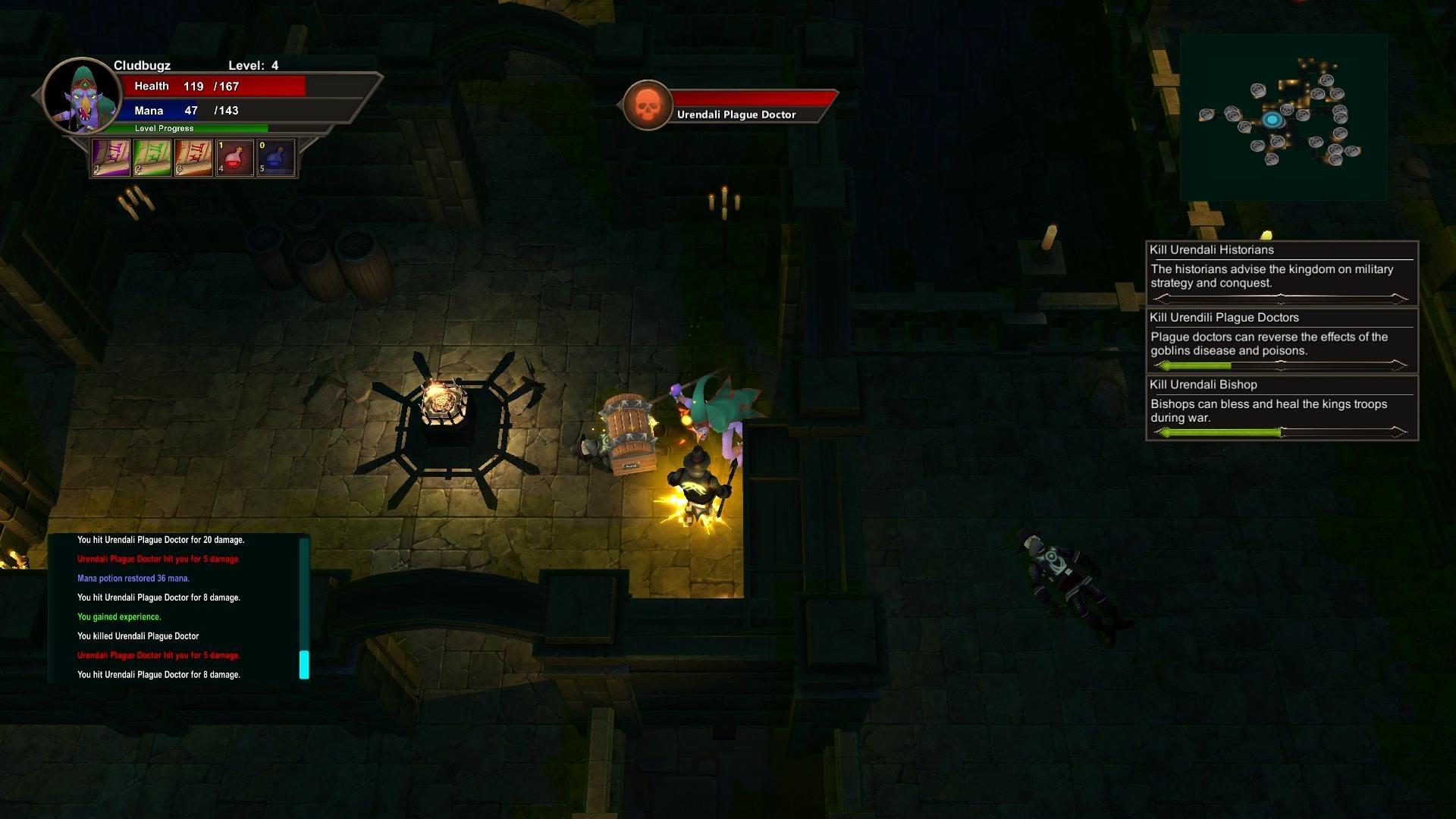 Cludbugz's Twisted Magic screenshot