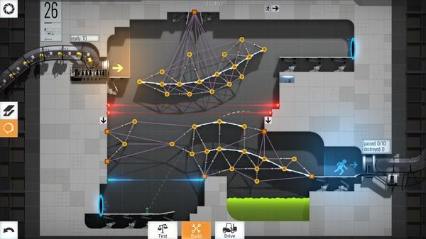 BridgeConstructorPortal スクリーンショット3