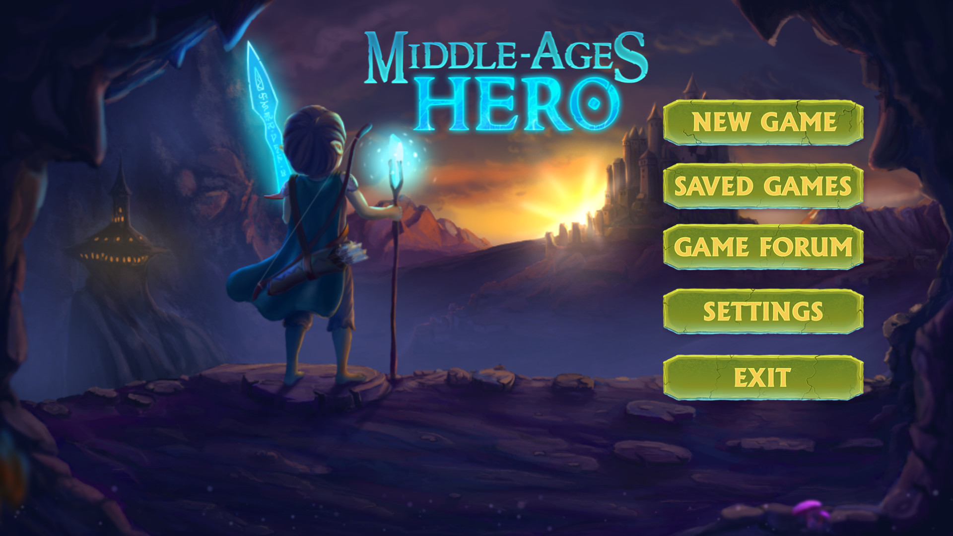 Middle Ages Hero screenshot