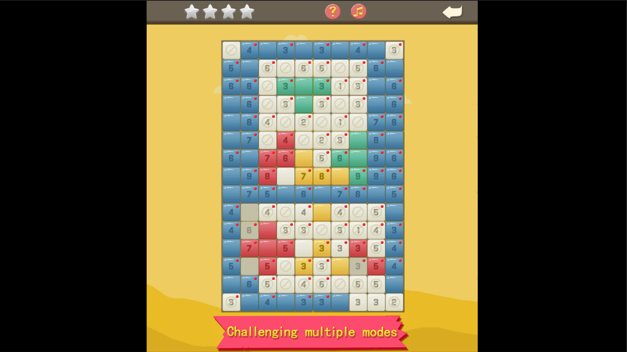 Magic Pixel Picross screenshot