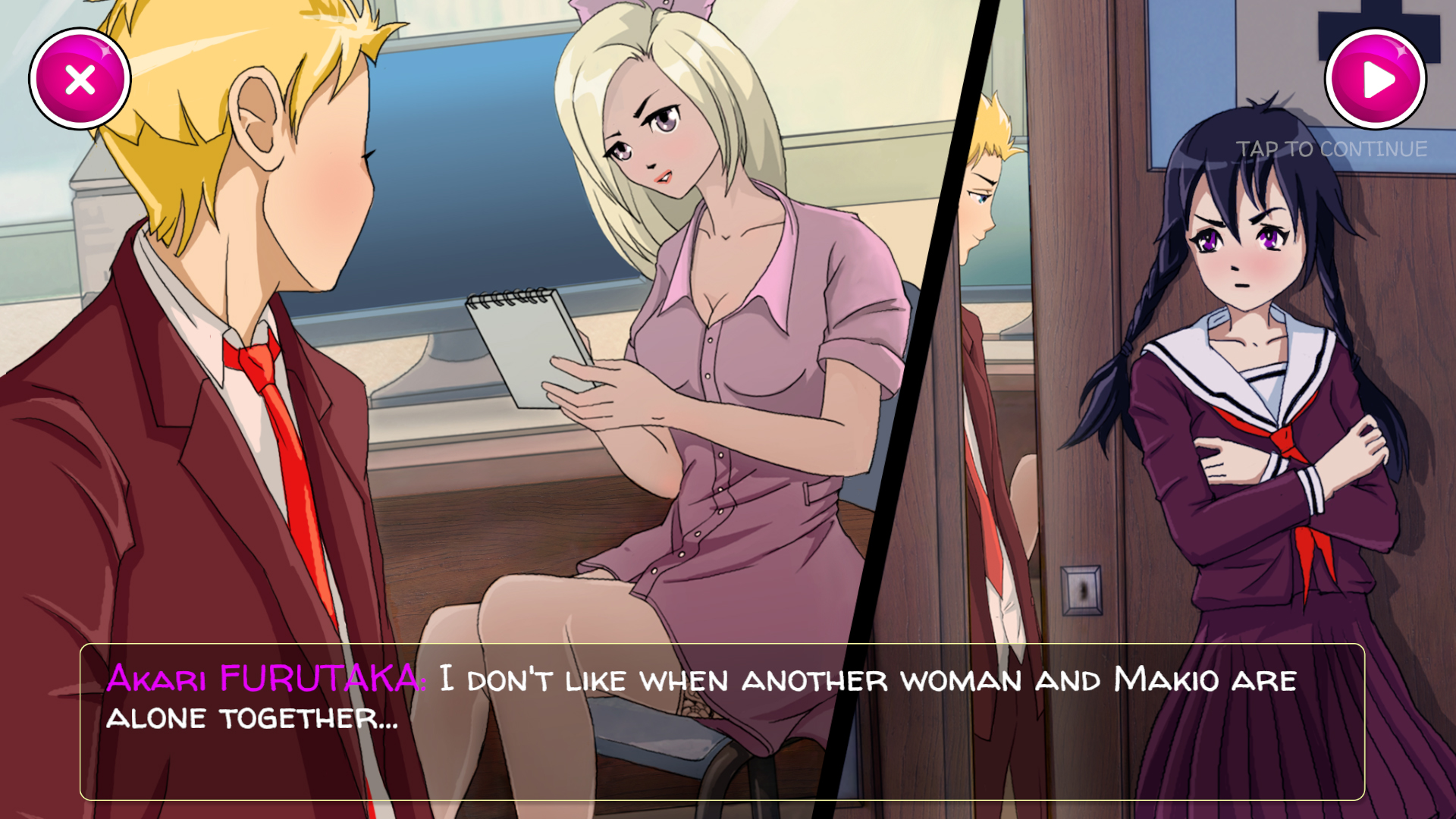 flirting games anime games without downloads 2017