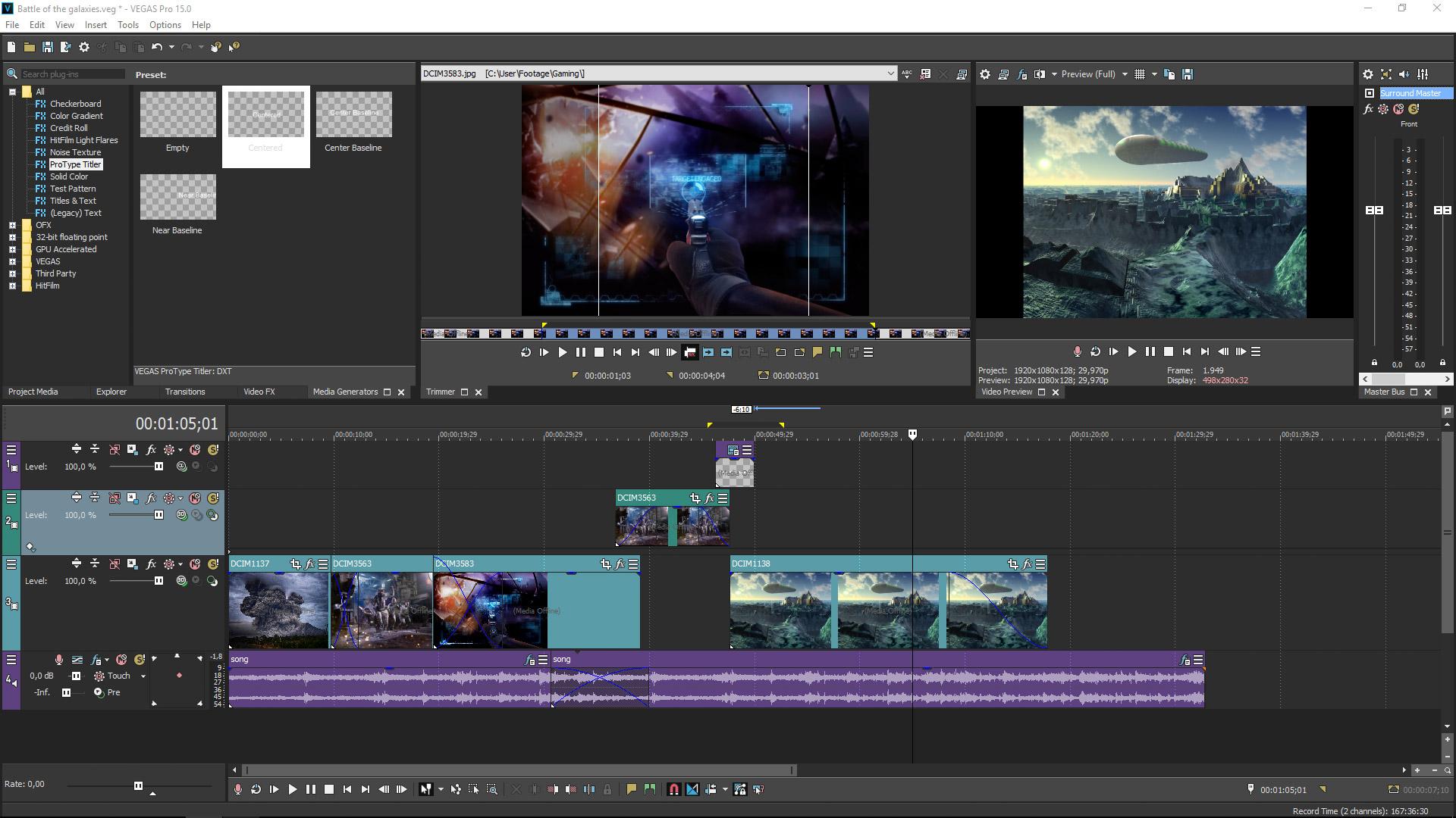 VEGAS Pro 15 Edit Steam Edition screenshot