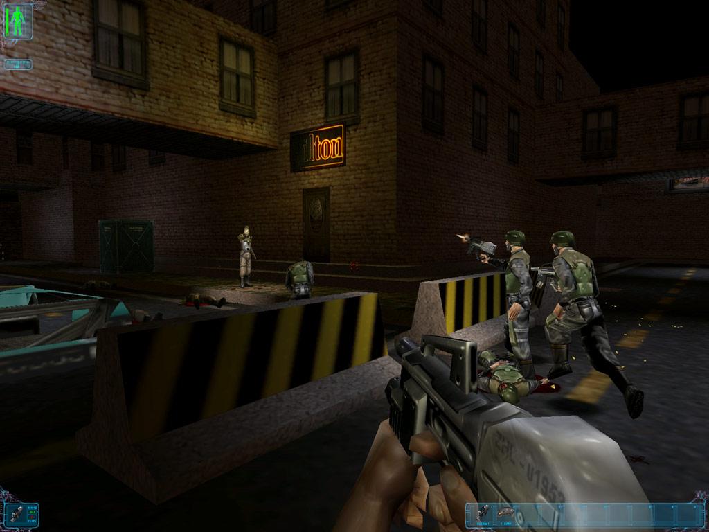 Deus Ex: Game of the Year Edition screenshot