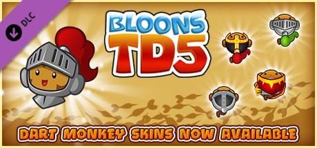 Bloons TD 5 - Medieval Dart Monkey Skin
