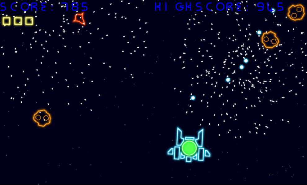 NeonGalaxy Wars screenshot