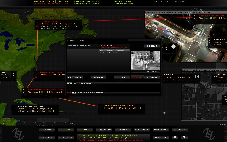 Hacker Evolution Duality screenshot