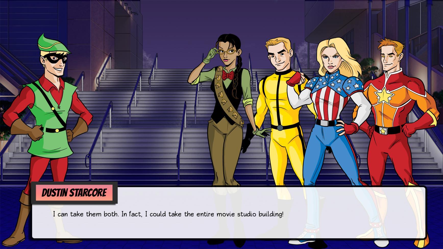 Inexplicable Geeks: Dawn of Just Us screenshot