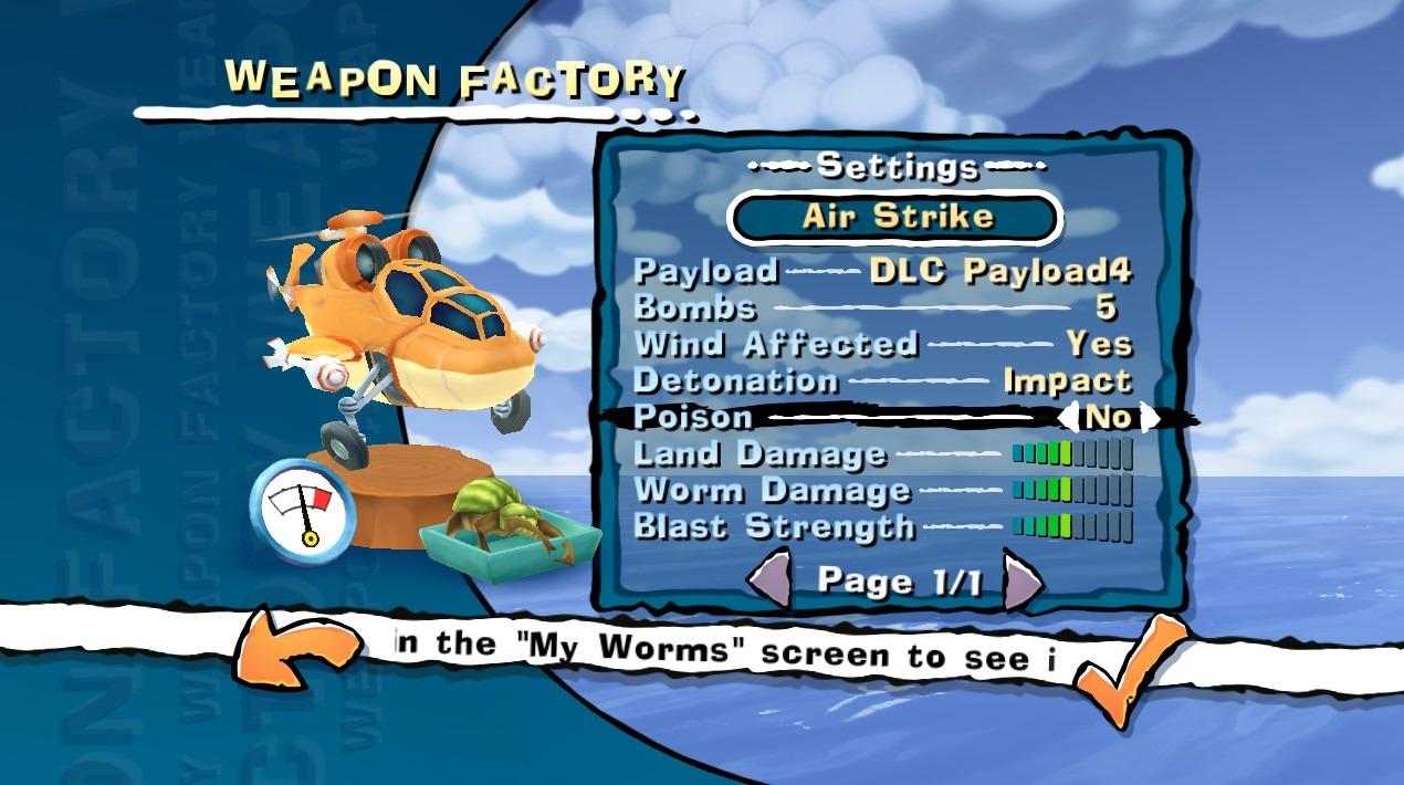 Worms Ultimate Mayhem - Customization Pack DLC screenshot