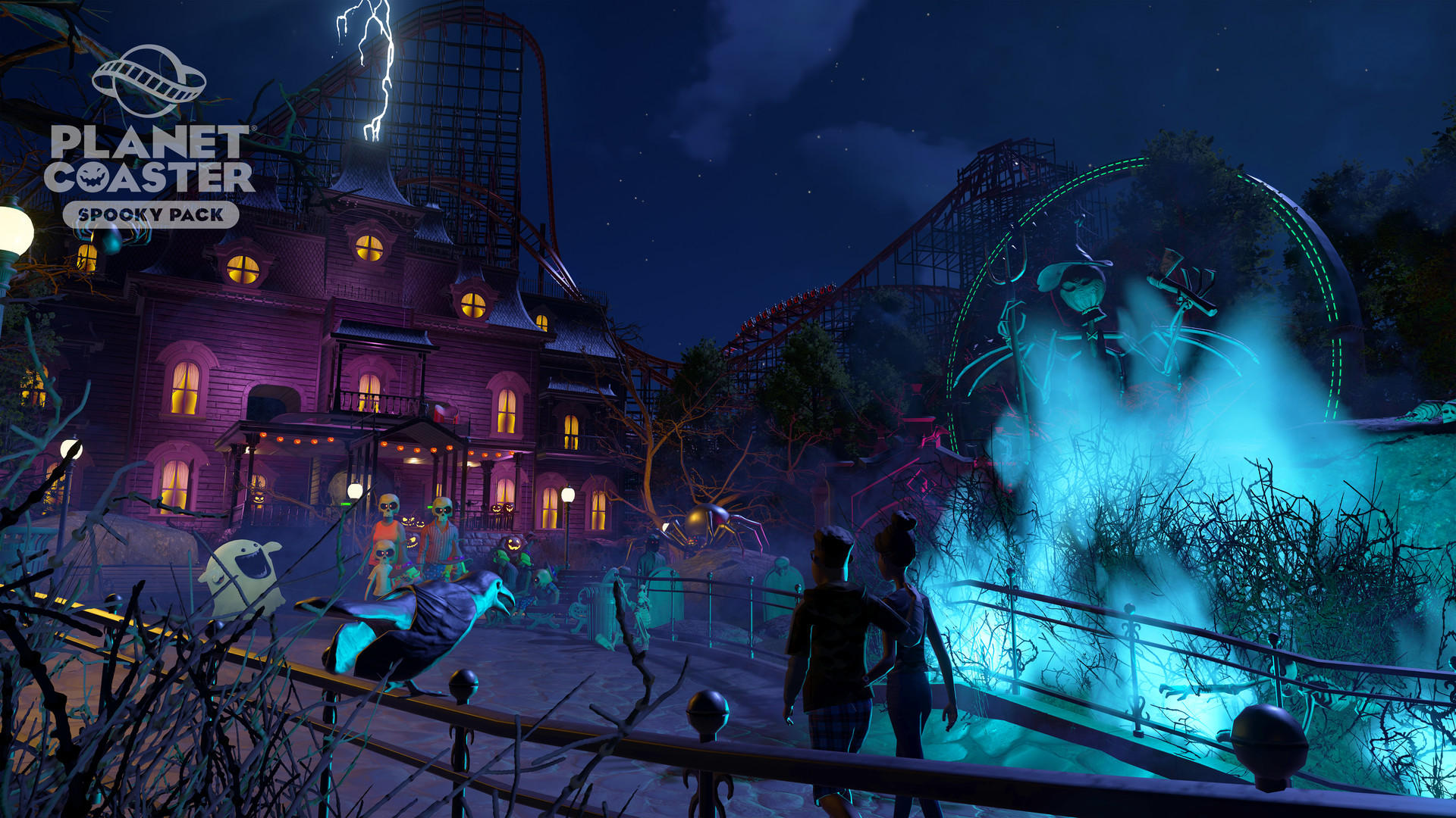 Planet Coaster - Spooky Pack screenshot