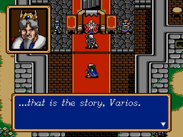 Shining Force screenshot