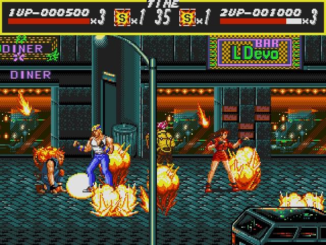 Streets of Rage screenshot