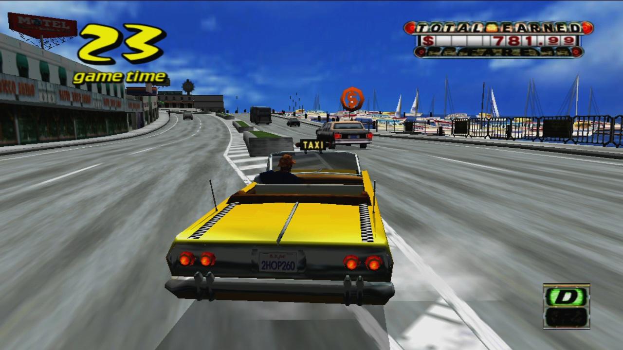 Crazy Taxi screenshot
