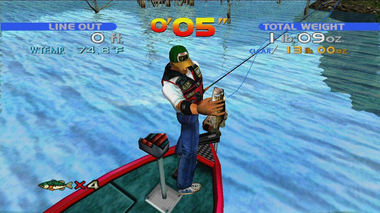 Download sega bass fishing full pc game for Fishing games for pc