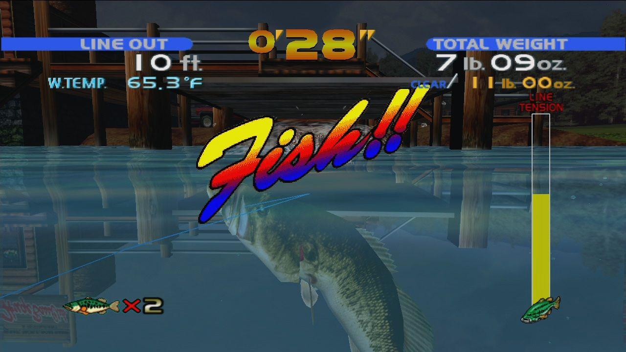 Download sega bass fishing full pc game for Bass fishing game