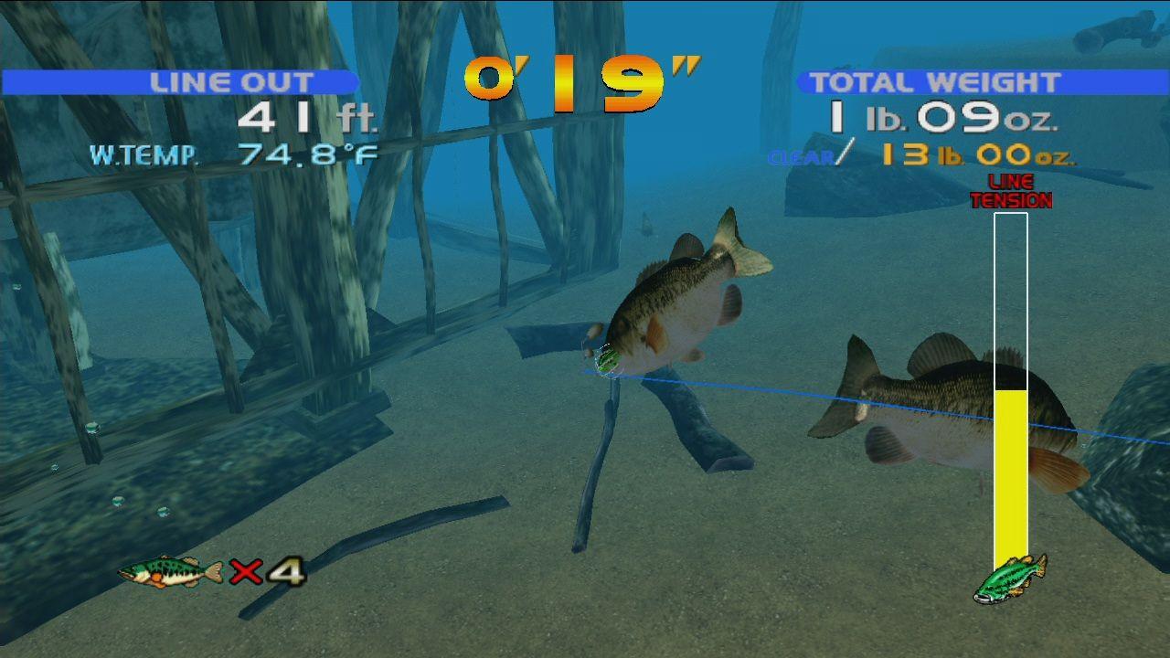 Download sega bass fishing full pc game for Fishing computer game