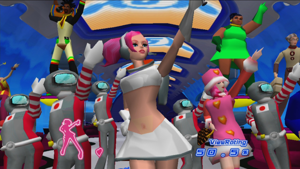 Space Channel 5: Part 2 screenshot
