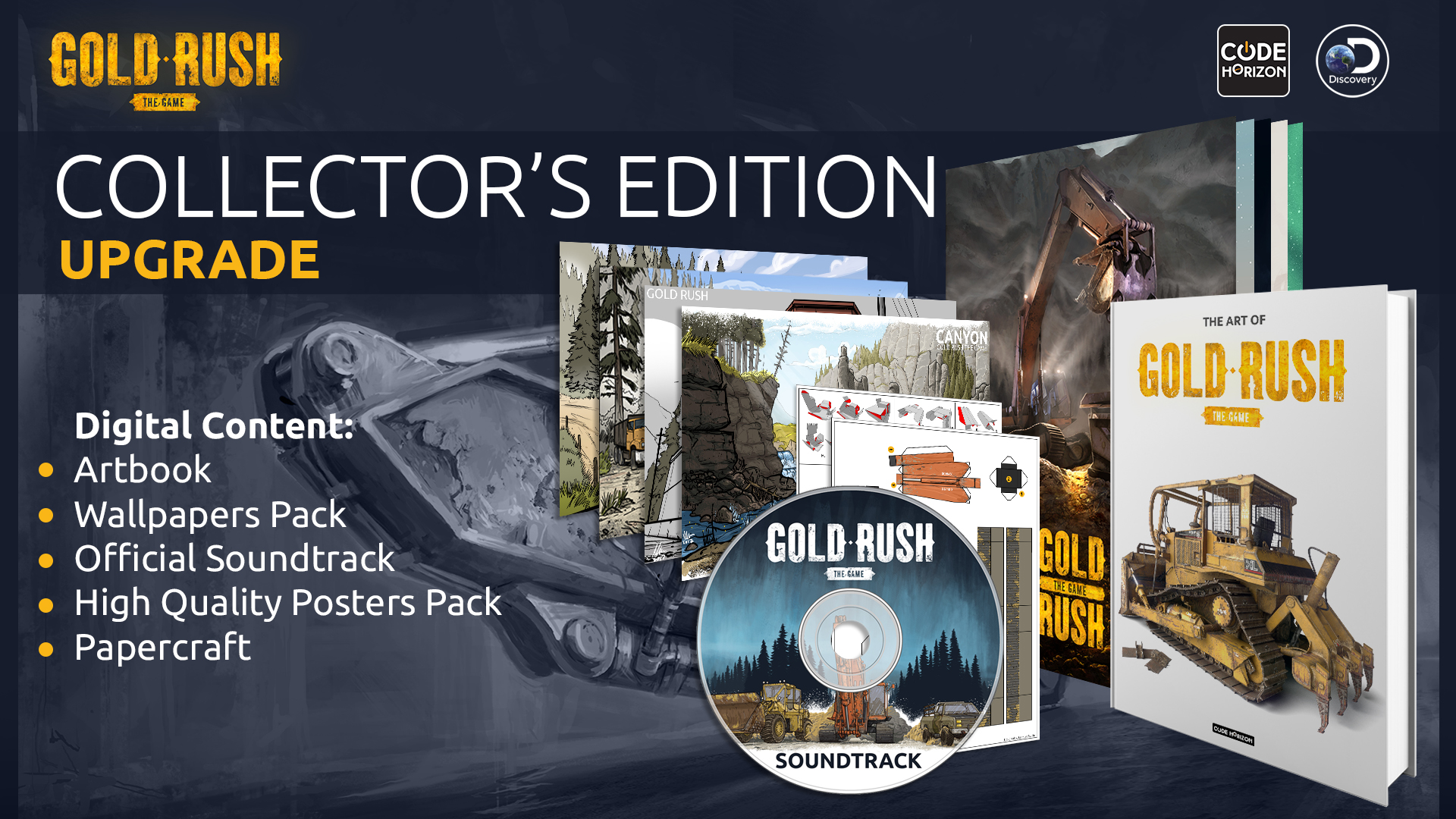 Gold Rush: The Game - Collector's Edition Upgrade screenshot