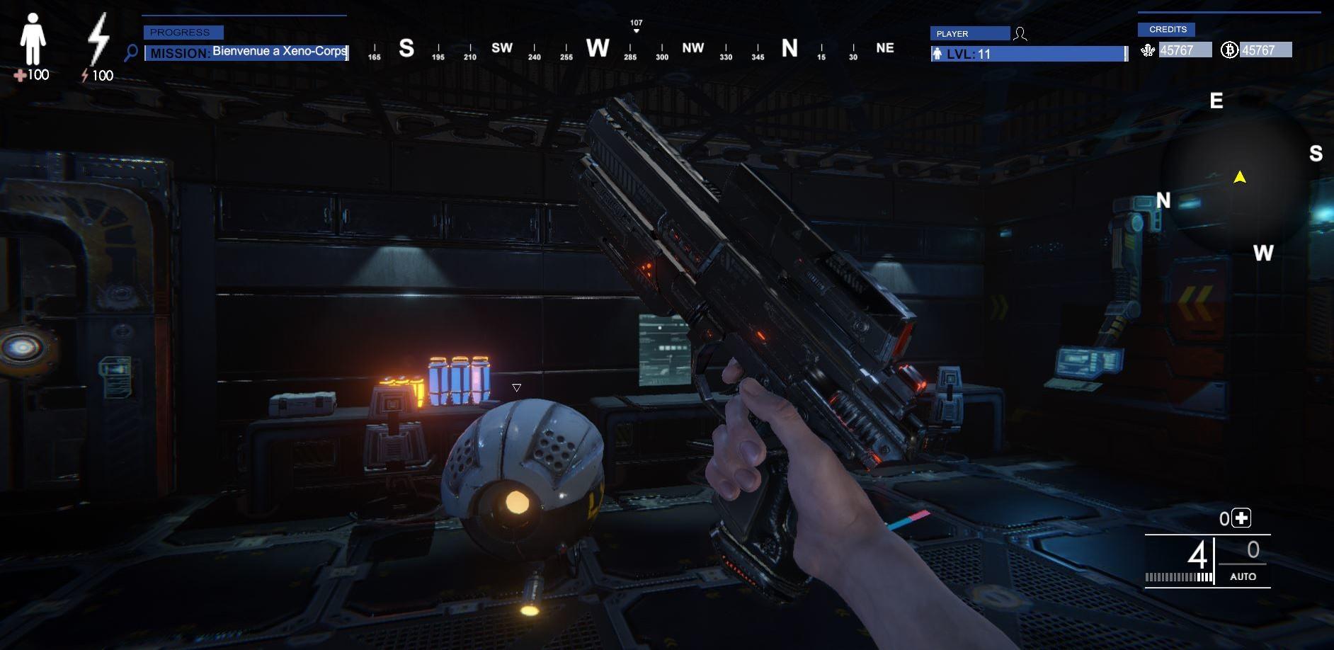 Xeno Time Inception screenshot