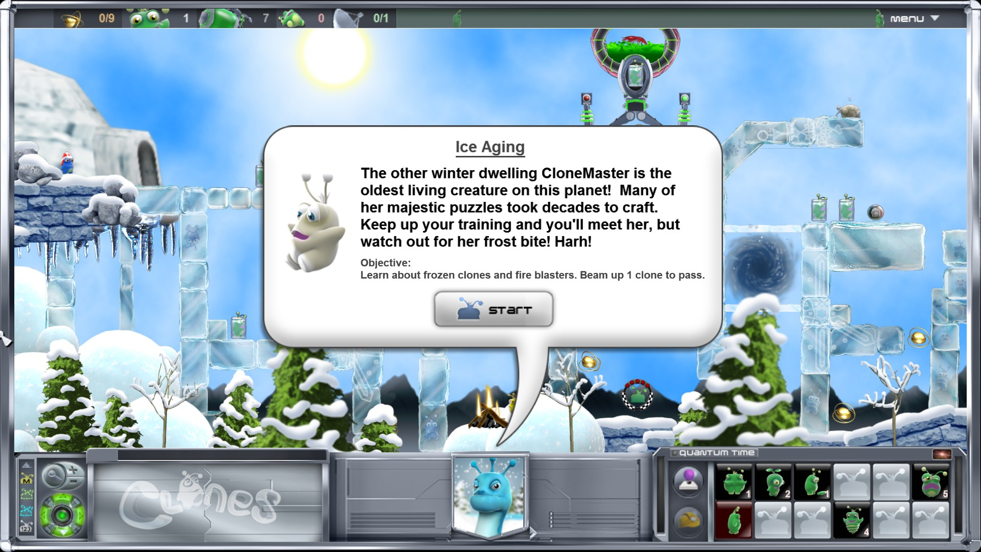 Clones screenshot