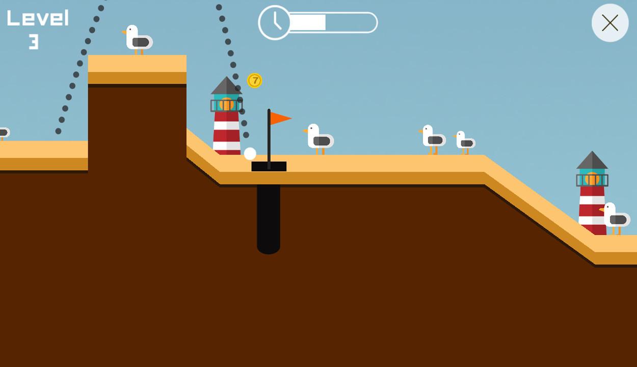 Golf 2D screenshot