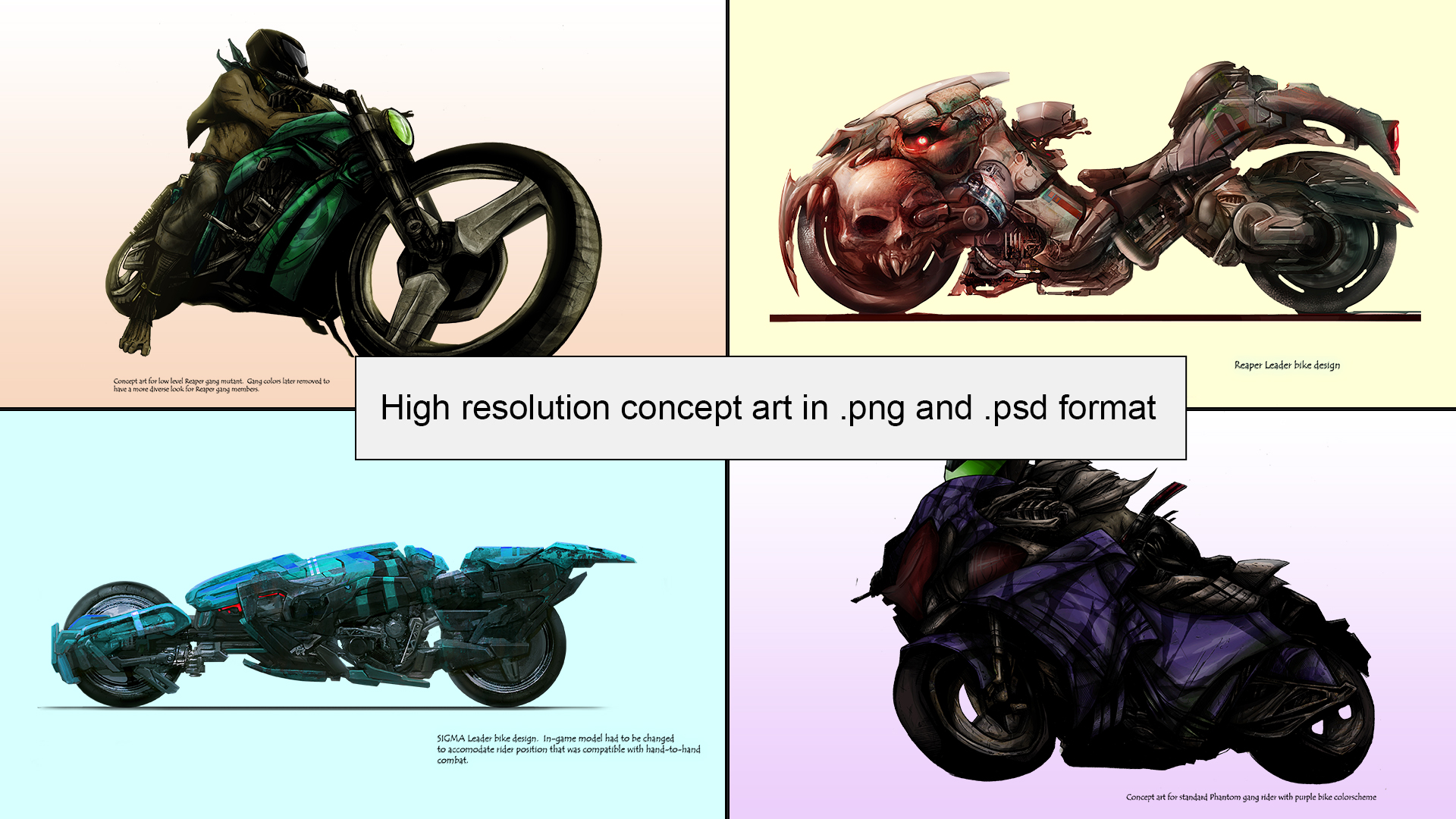 Road Redemption - Concept Art and Videos screenshot