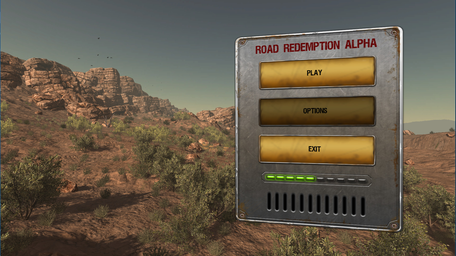 Road Redemption - Early Prototype screenshot