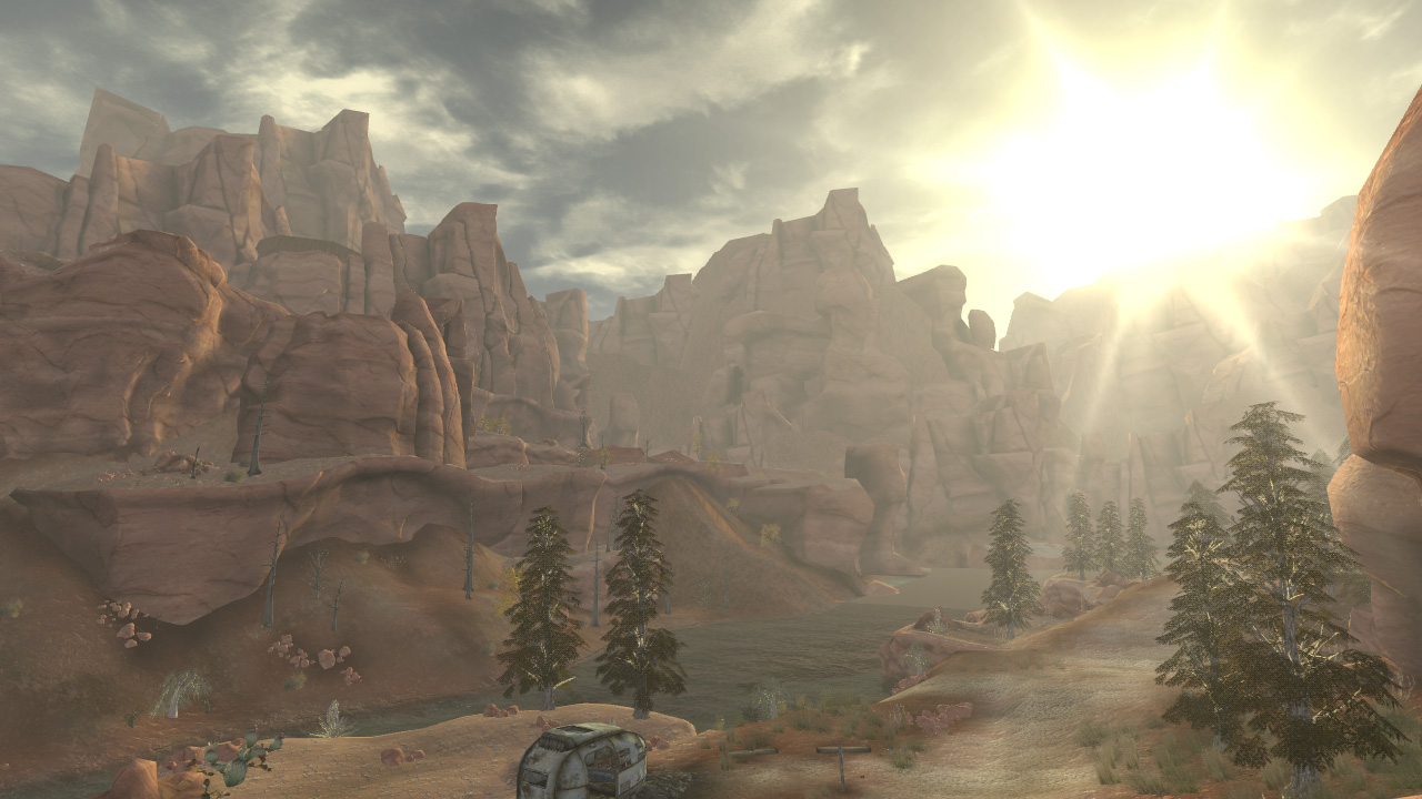 Fallout New Vegas: Honest Hearts screenshot