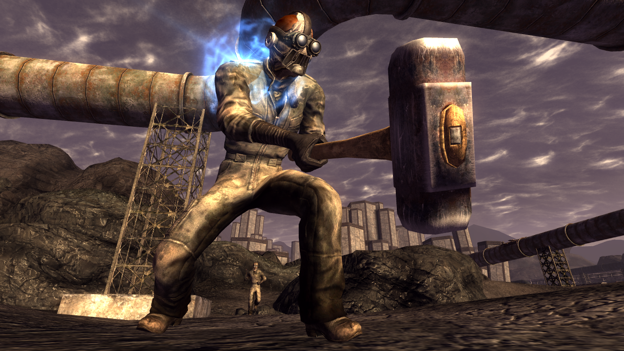 Fallout New Vegas: Old World Blues screenshot