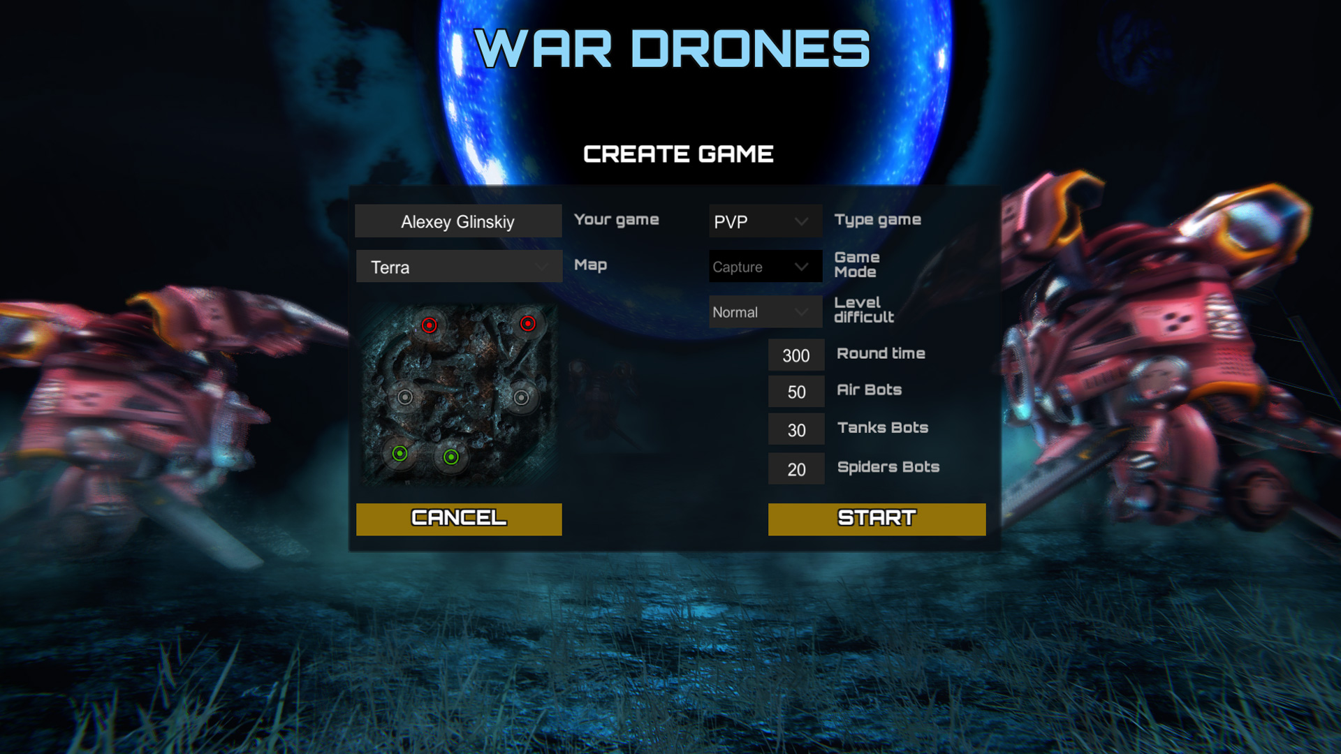 WAR DRONES screenshot