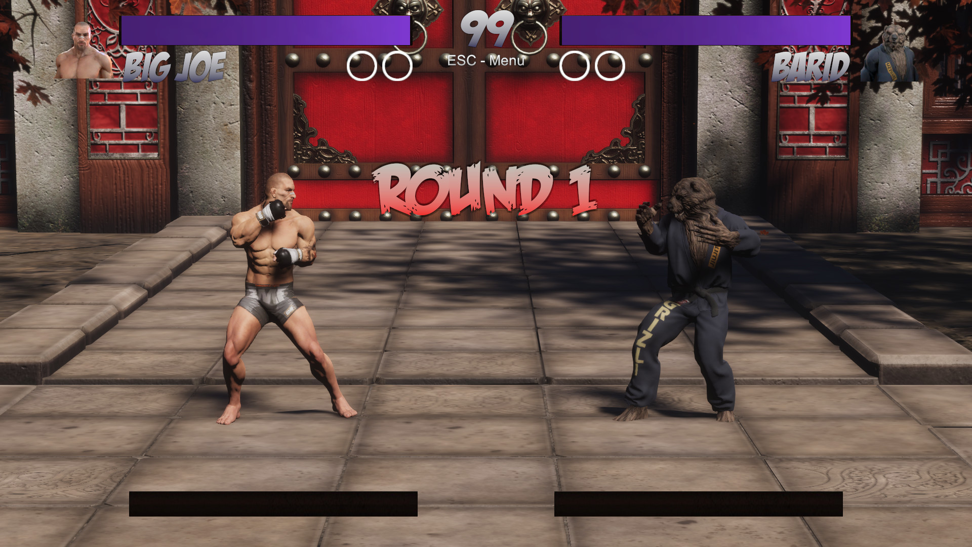 Raging Fists: Retribution screenshot
