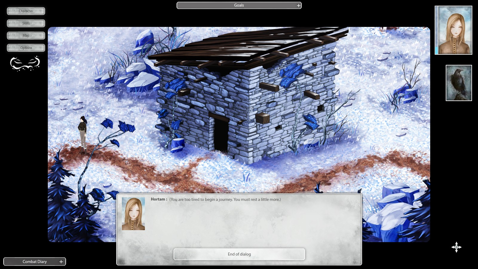 Winter Voices Episode 1: Those who have no name screenshot
