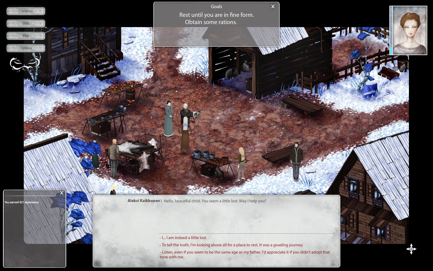 Winter Voices Episode 3: Like a Crow on a Wire screenshot
