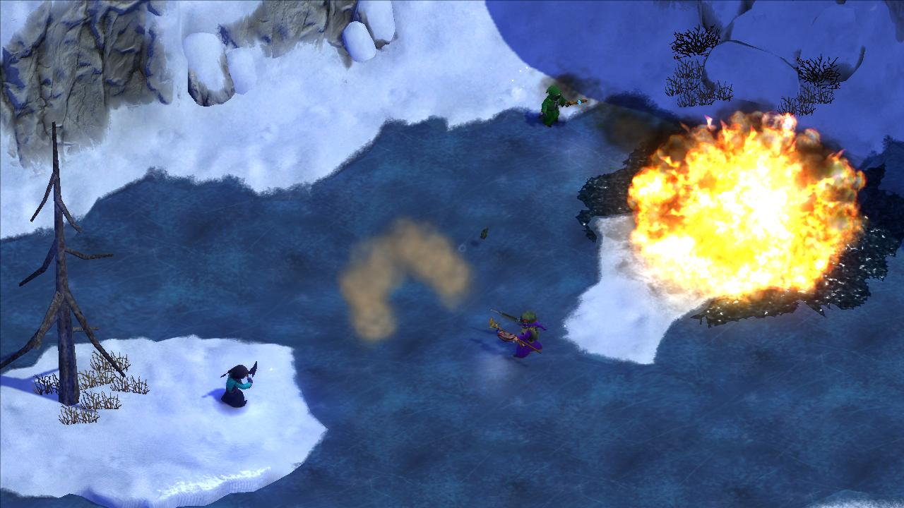 Magicka: Frozen Lake screenshot