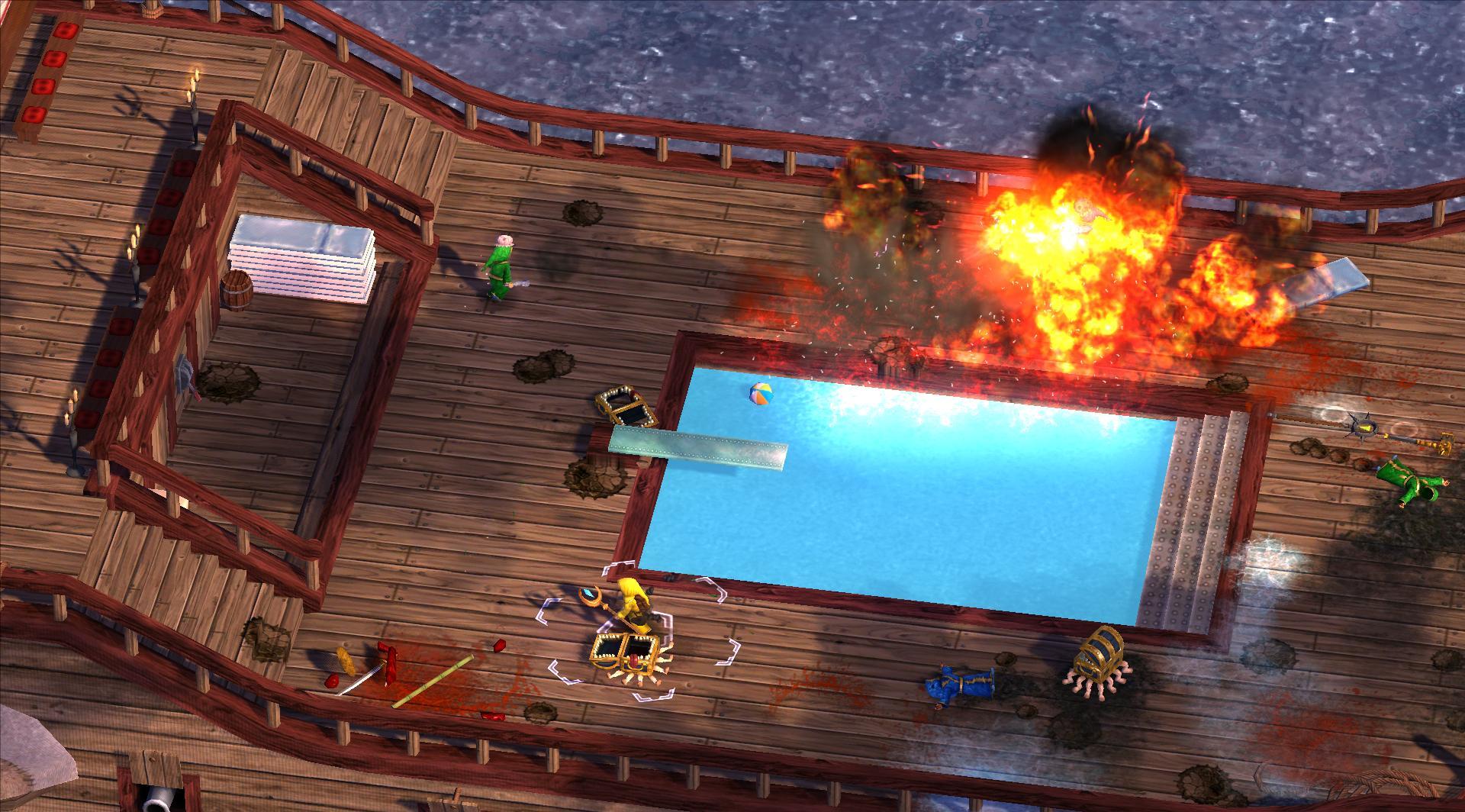 Magicka: Lonely Island Cruise screenshot