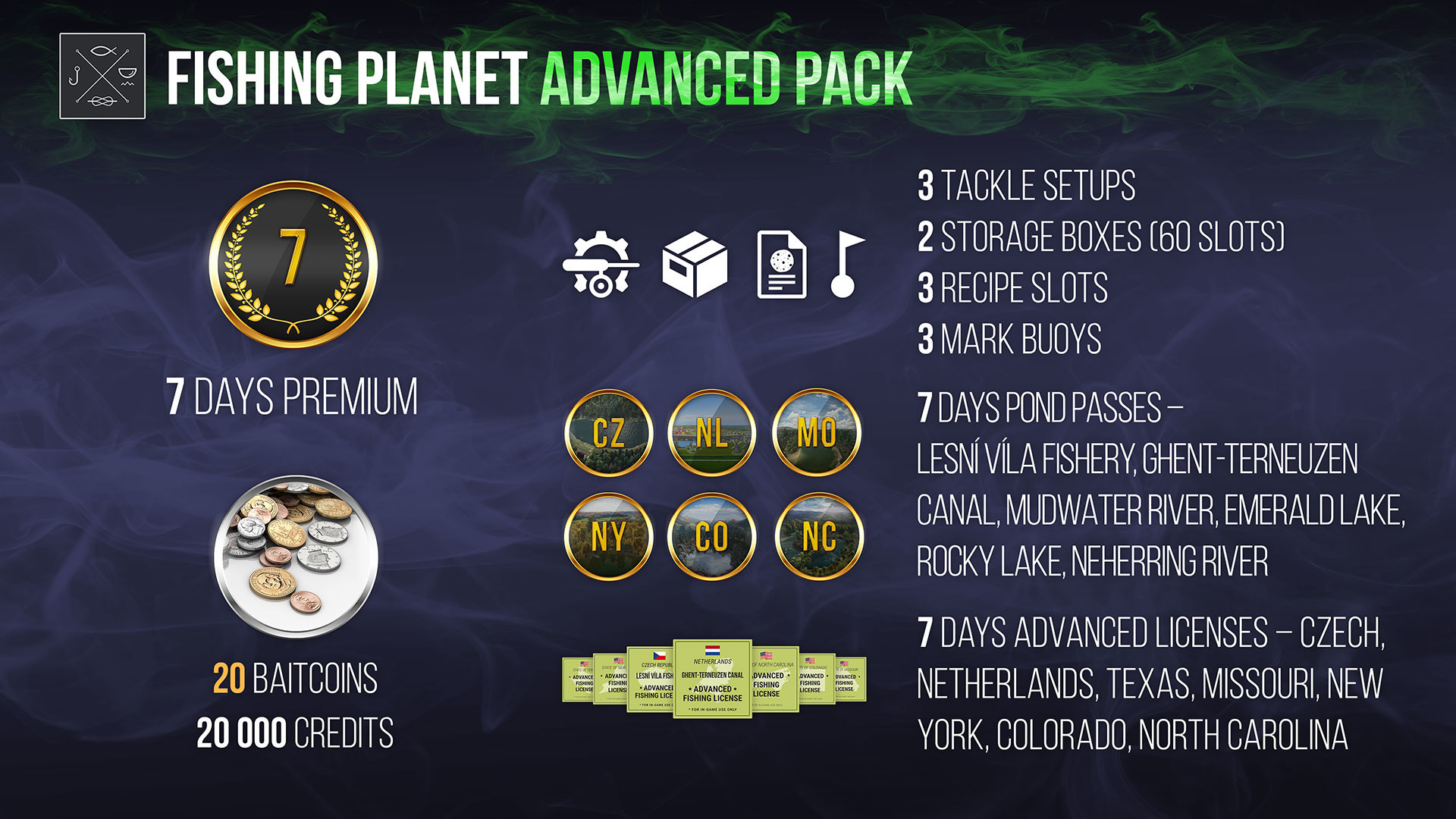 Fishing Planet: Advanced Pack screenshot