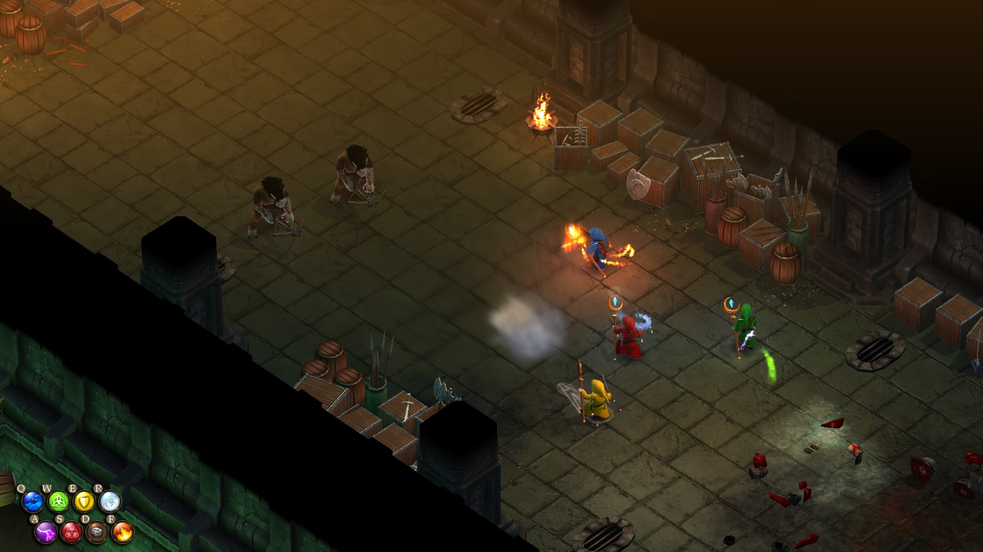Magicka: Dungeons and Daemons screenshot