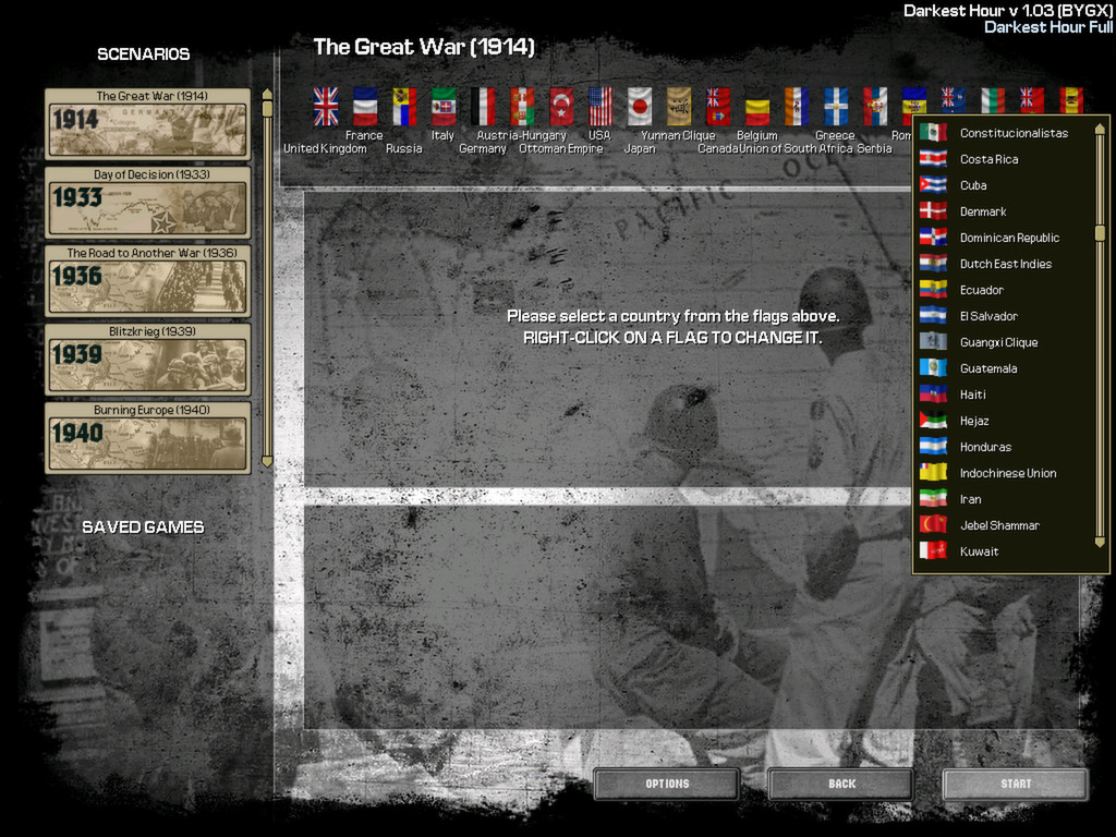 Darkest Hour: A Hearts of Iron Game screenshot