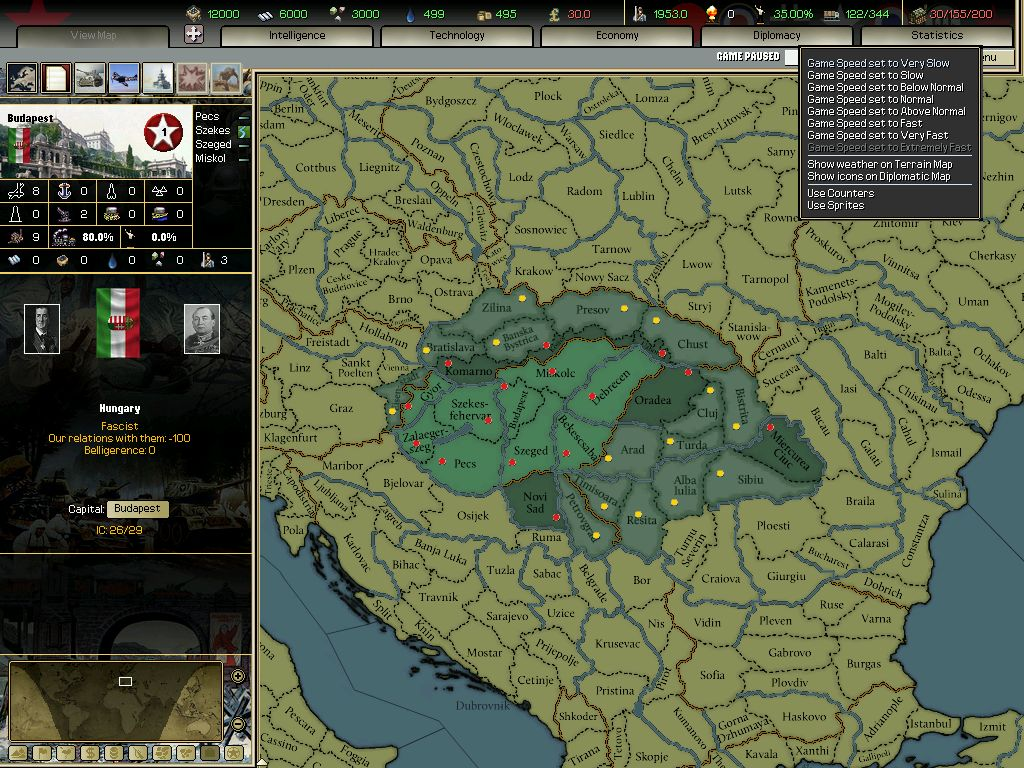 Darkest Hour: A Hearts of Iron Game screenshot 3