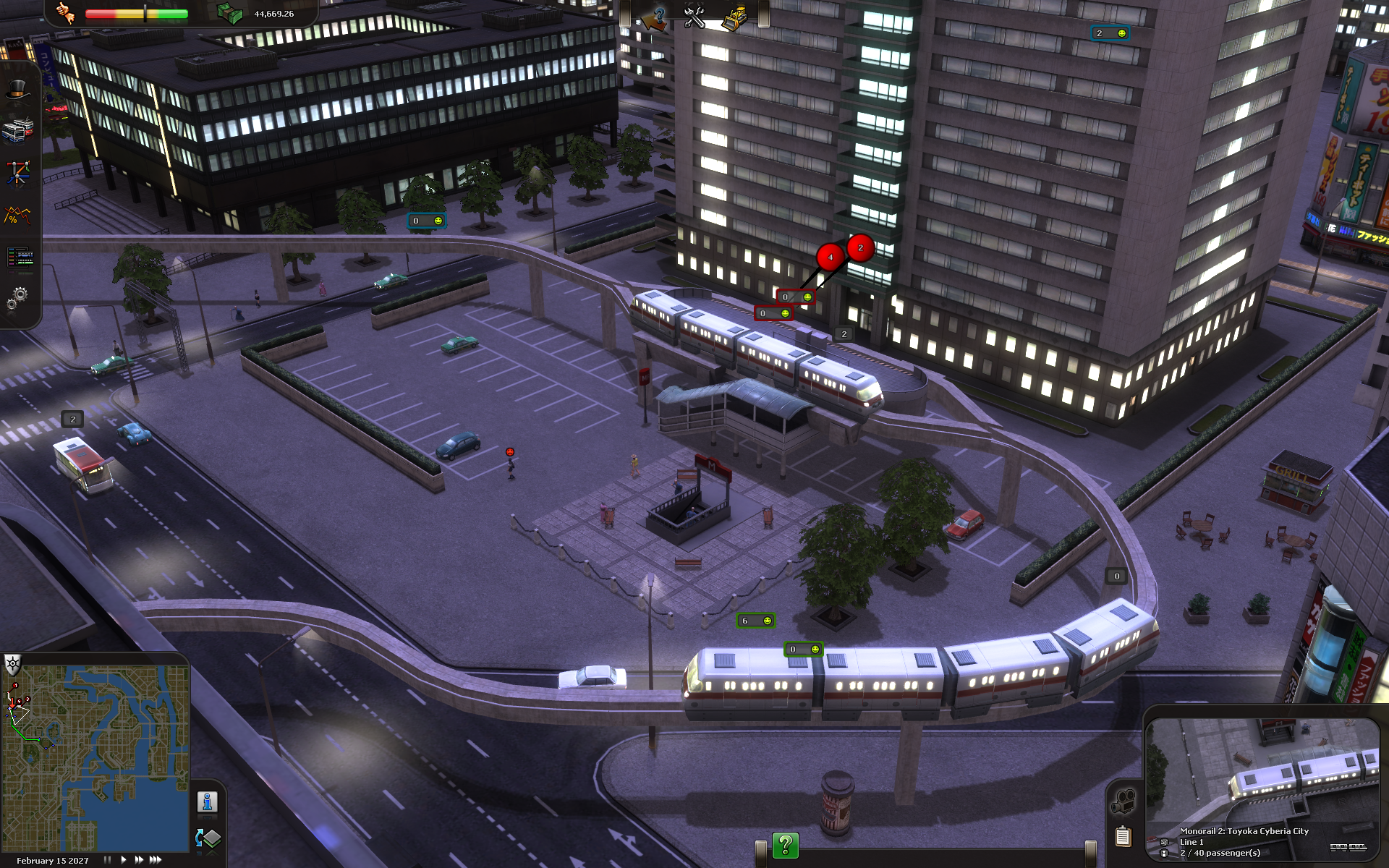 Cities in Motion: Tokyo screenshot