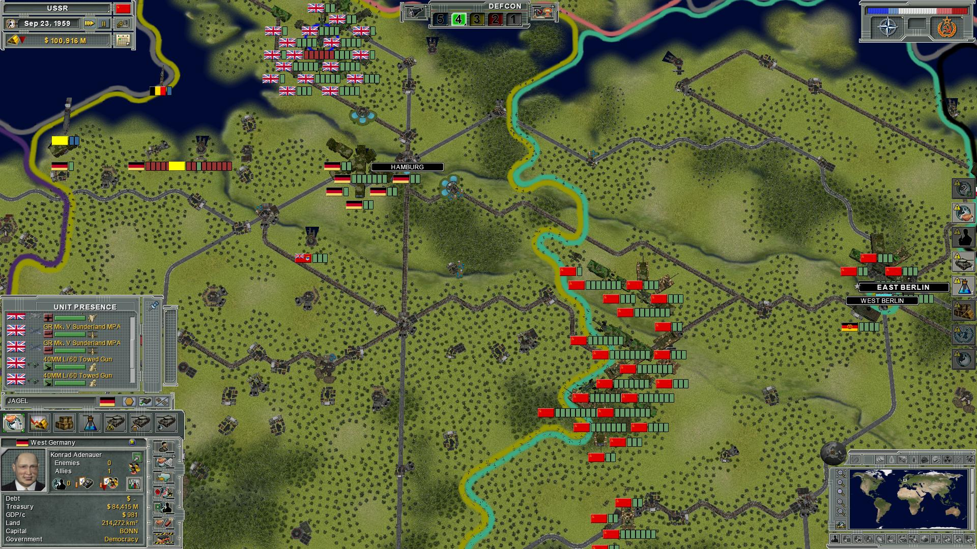 Supreme Ruler: Cold War screenshot