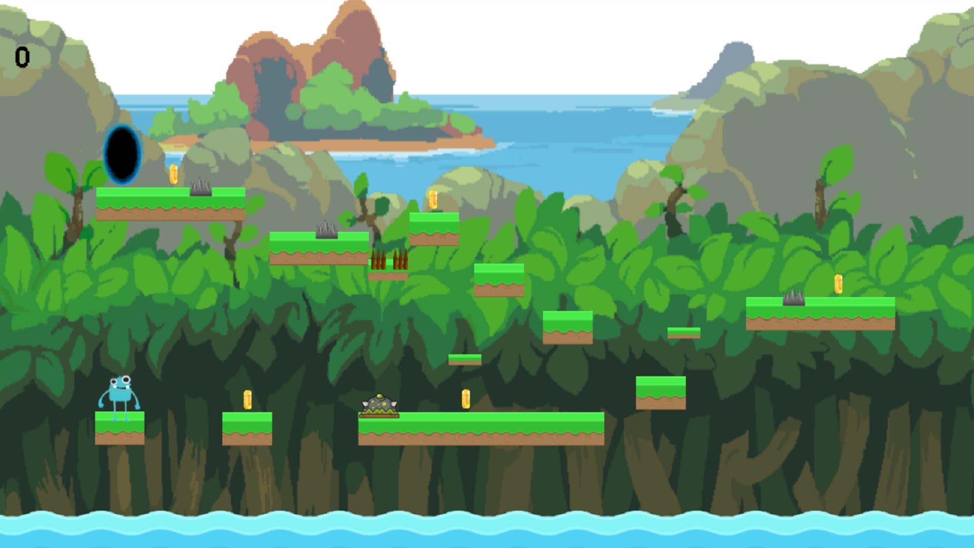 Lost jumping frog screenshot