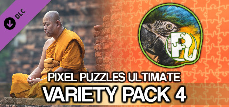 Jigsaw Puzzle Pack - Pixel Puzzles Ultimate: Variety Pack 4