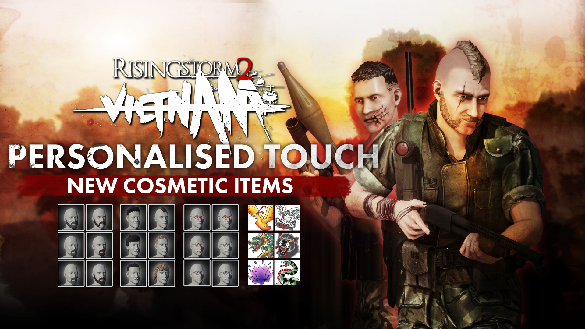Rising Storm 2: Vietnam - Personalized Touch Cosmetic DLC screenshot