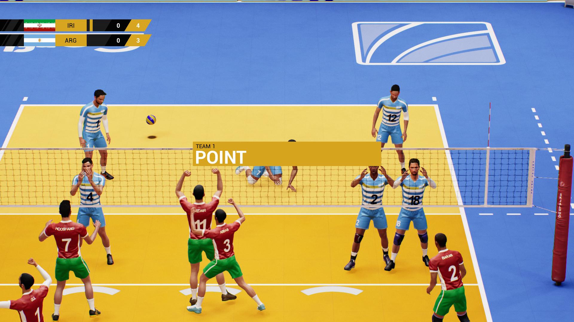 Spike Volleyball screenshot