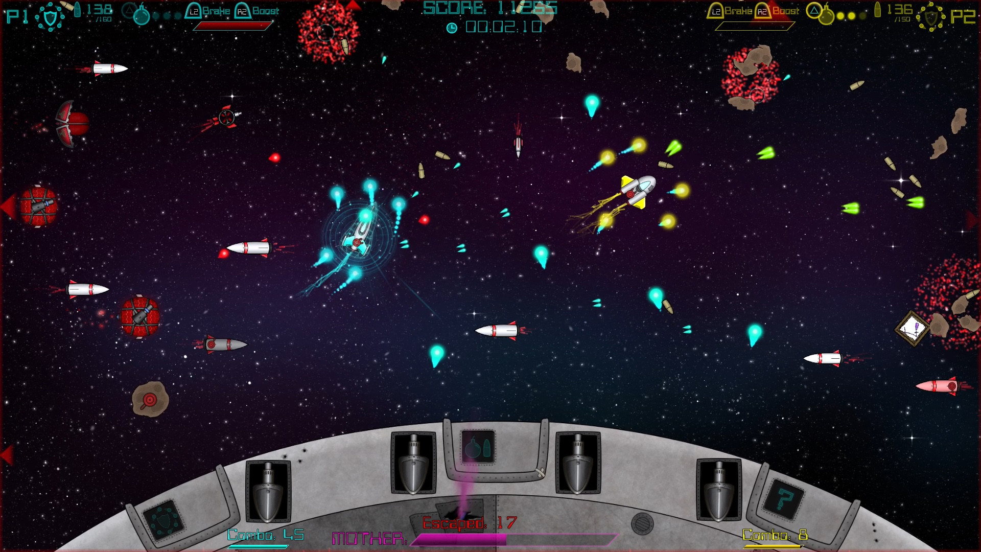 Super Mega Space Blaster Special Turbo screenshot