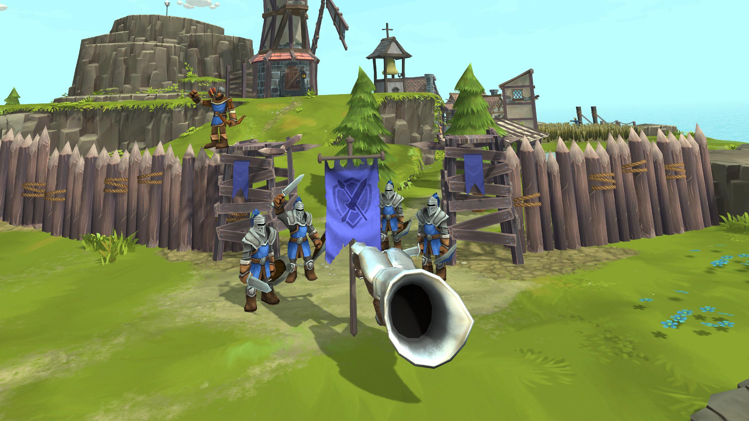 Townsmen VR screenshot