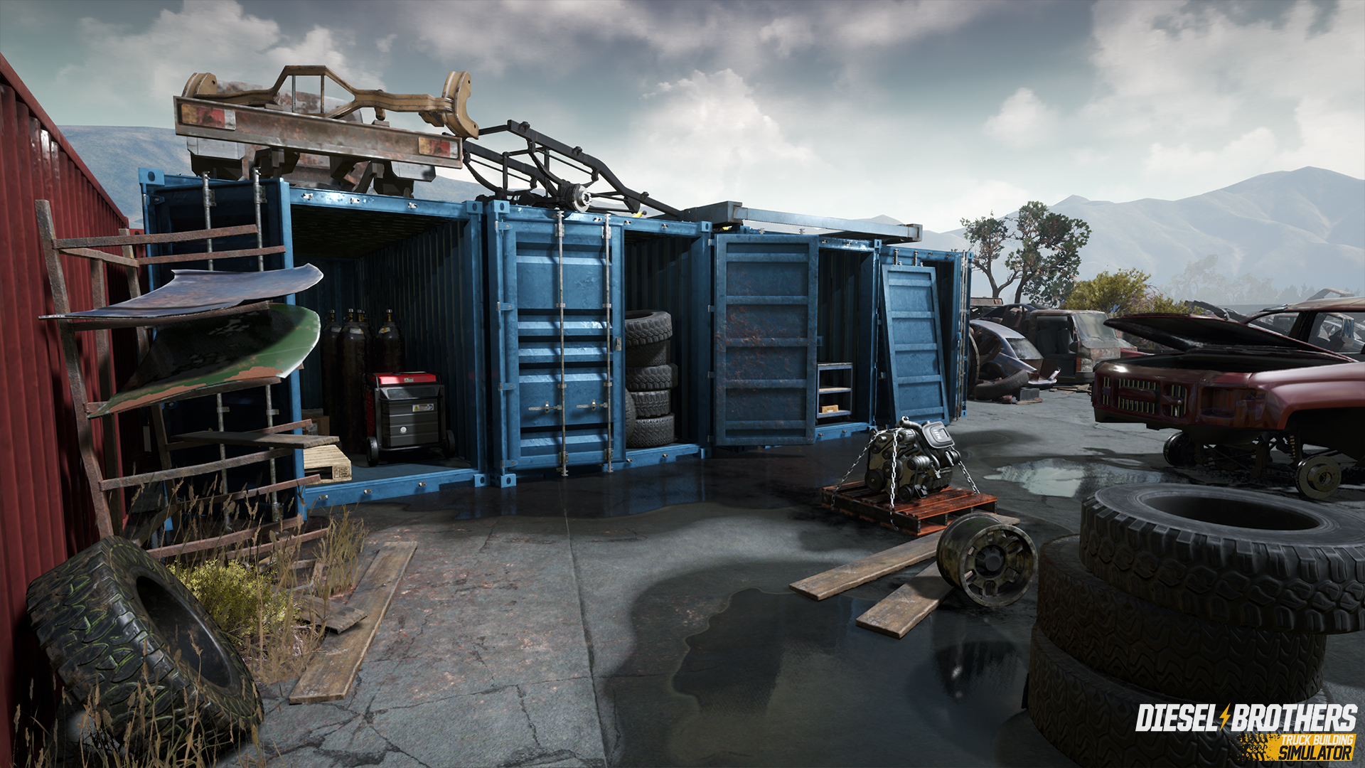 Diesel Brothers: Truck Building Simulator screenshot