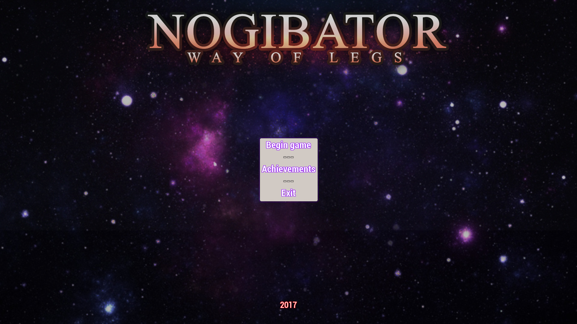 Nogibator: Way Of Legs screenshot