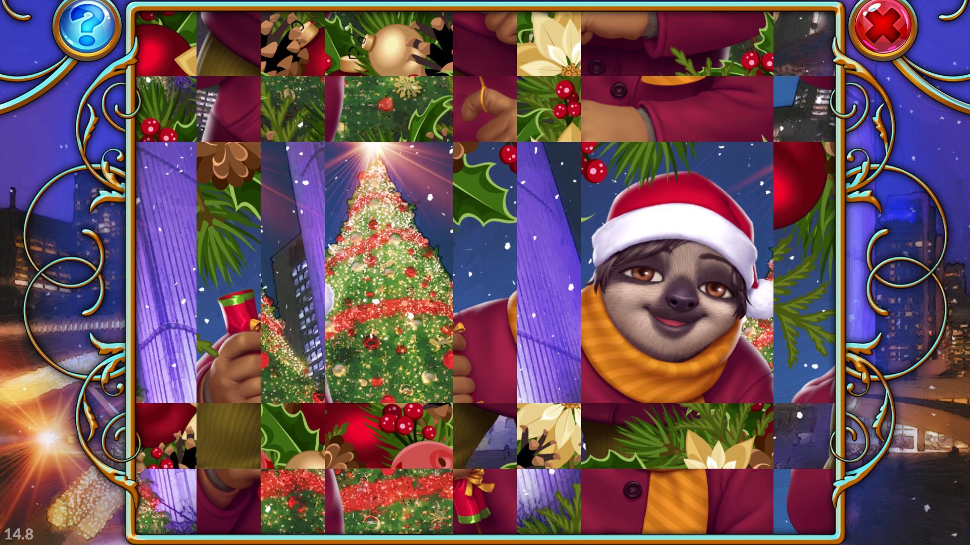 Travel Mosaics 6: Christmas Around the World screenshot